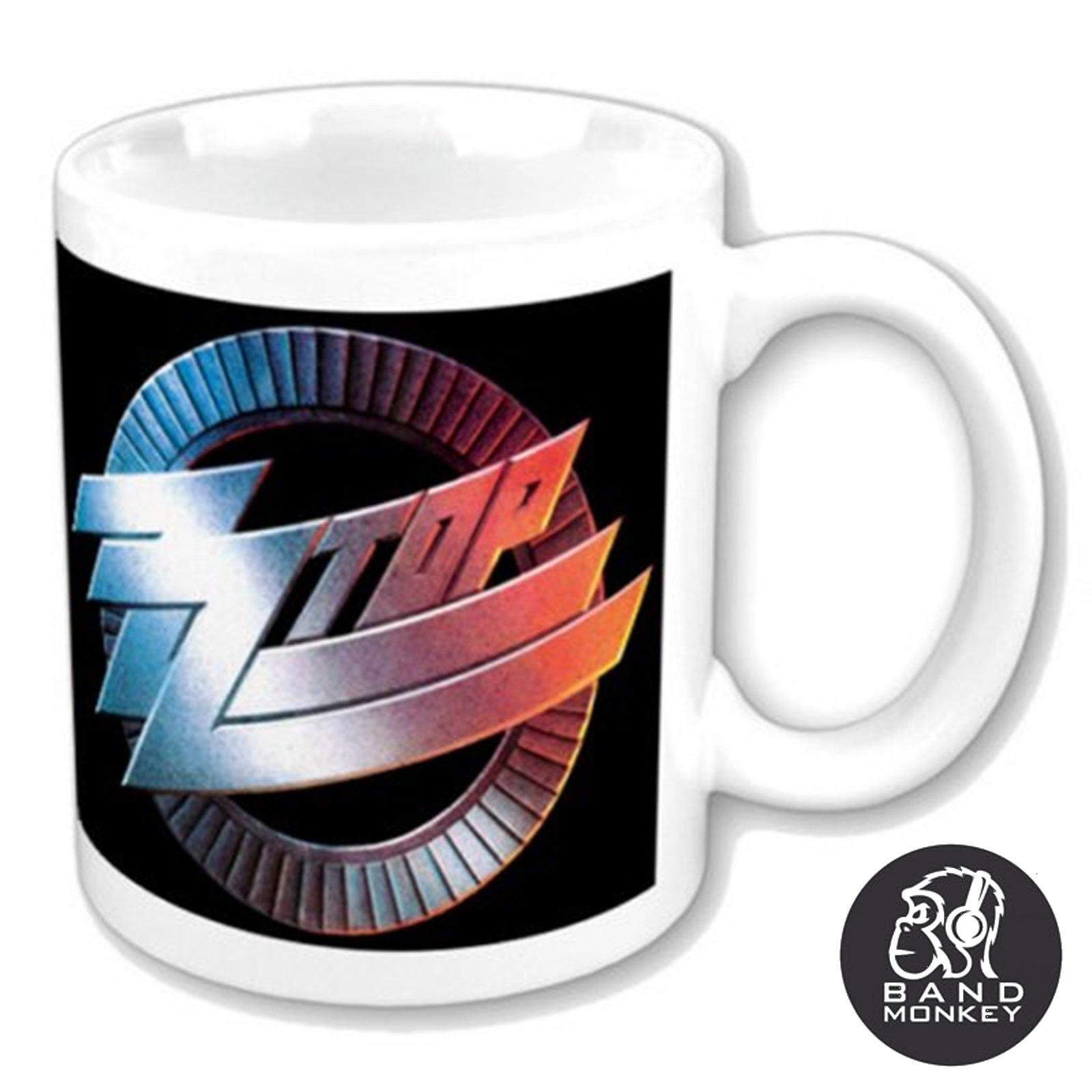 ZZ Top Boxed Standard Mug Circle